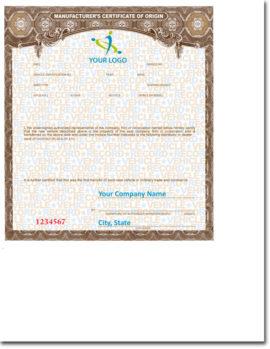 MCO/MSO Certificates
