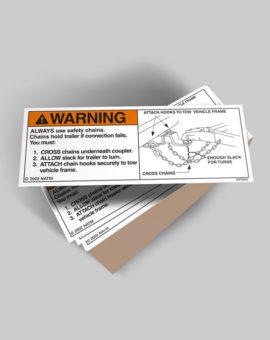 Trailer Warning Labels